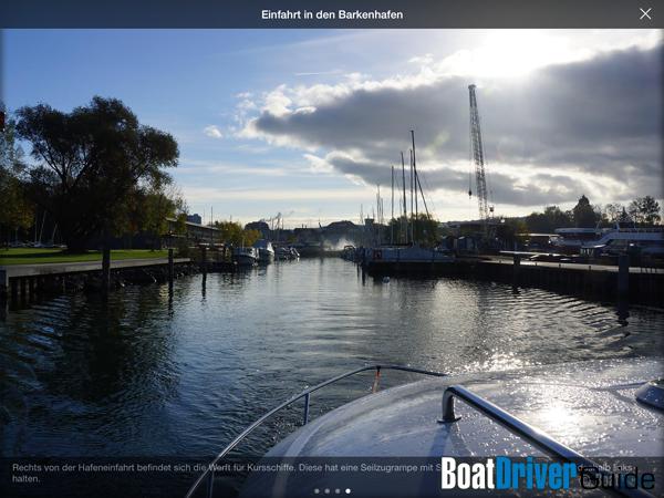 BoatDriver Guide Photos des objets et des emplacements